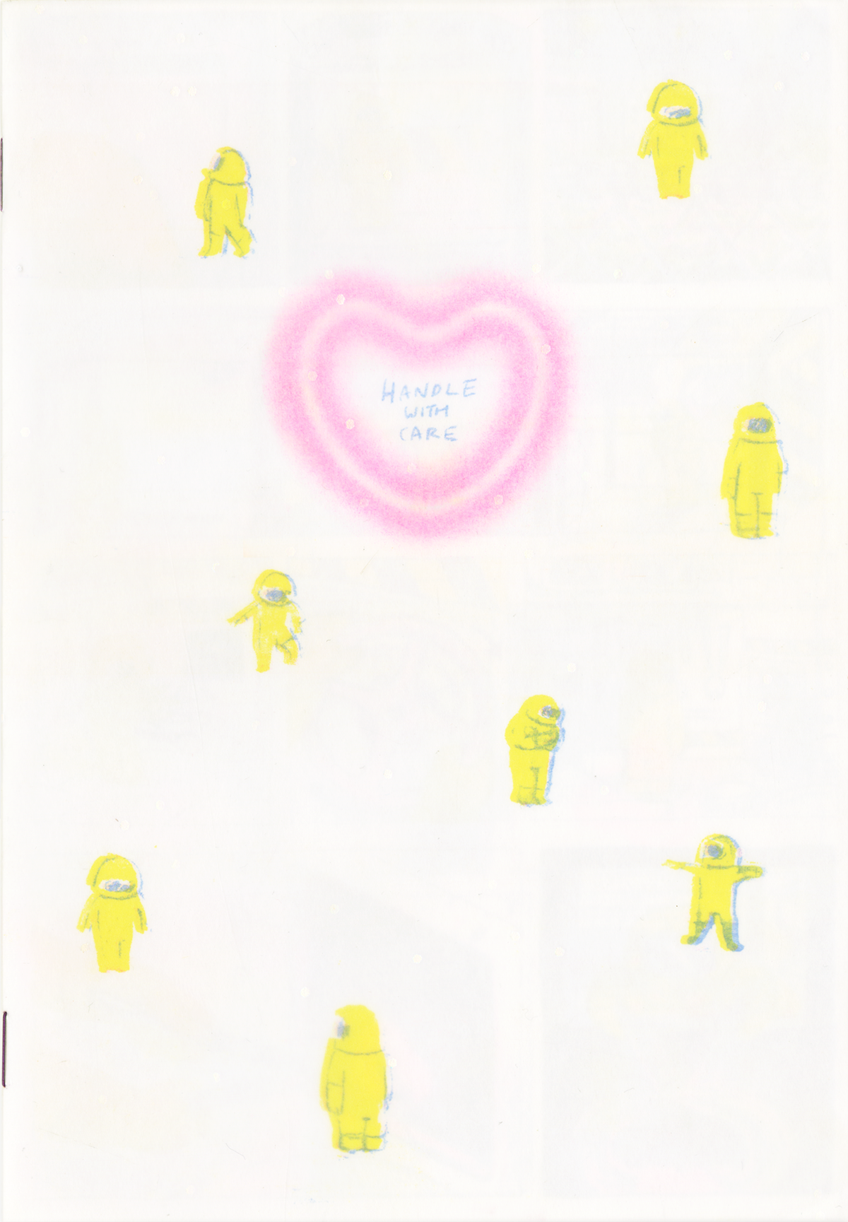 Handle With Care, a zine by Amanda Chung.