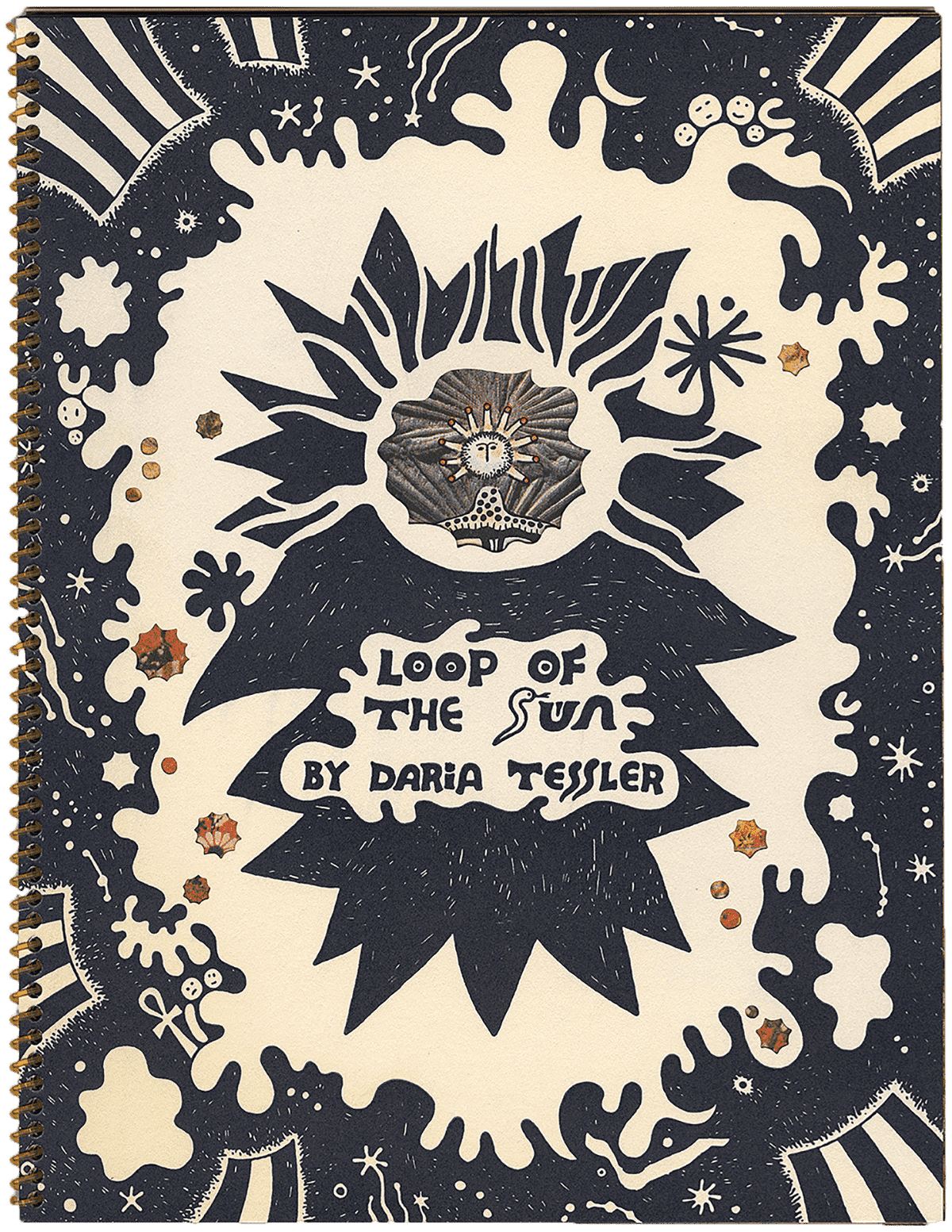 Loop of the Sun, a zine by Daria Tessler published by Perfectly Acceptable Press.